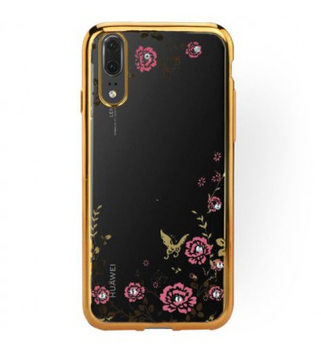 Back Case FLOWER Huawei P20