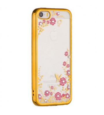 Etui Back Case Flower Apple...