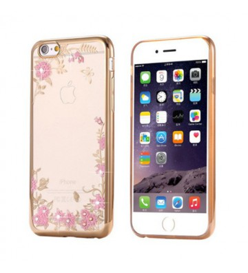 Etui Back Case Flower...